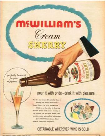 sherrymcwilliamsadvert1961