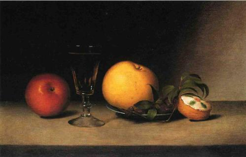 Raphaelle-Peale-Still-Life-with-Apples-Sherry-and-Tea-Cakke