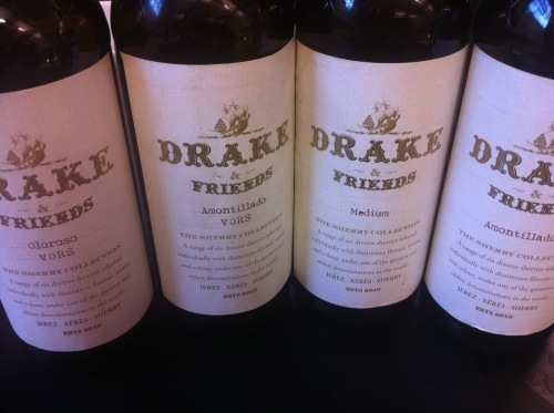 Drake sherries