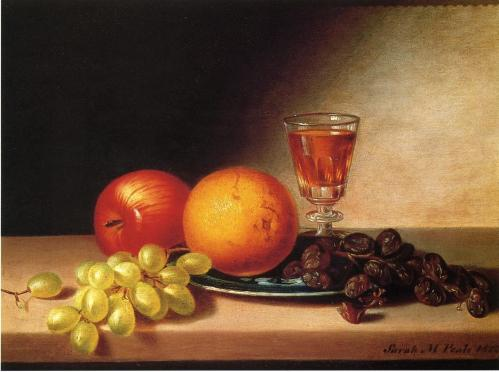 Sarah-Miriam-Peale-Fruits-and-Wine