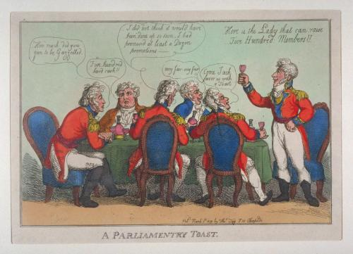 thomas-rowlandson-a-parliamentary-toast-1809-painting-artwork-print