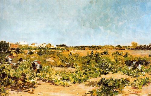 Jose Villegas Cordero La vendimia1895