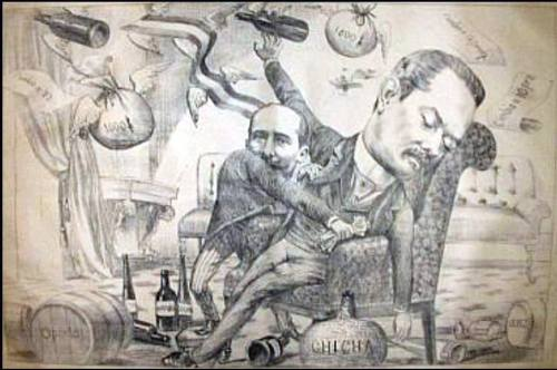 caricaturadoncristobal1892chile