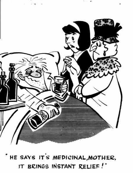 cartoonEMMWODDAILYMAIL1965MEDICIANAL