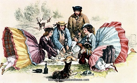 A Victorian picnic -